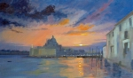 Grand Canal and Salute, Venice - after Peter Wileman